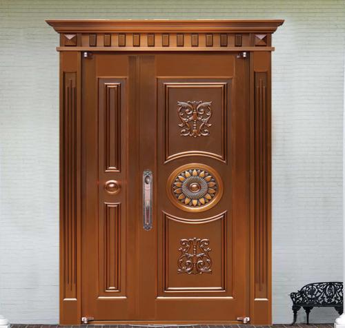 铜门,是一种豪华的玄关