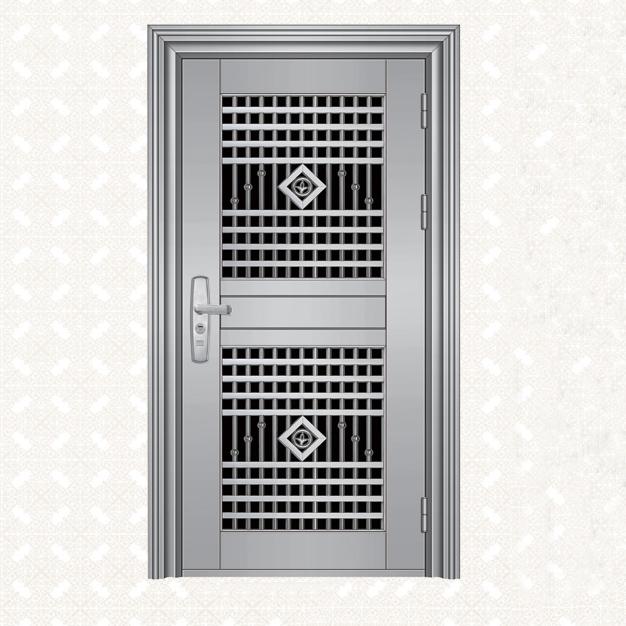 088S-4A不锈钢板单门