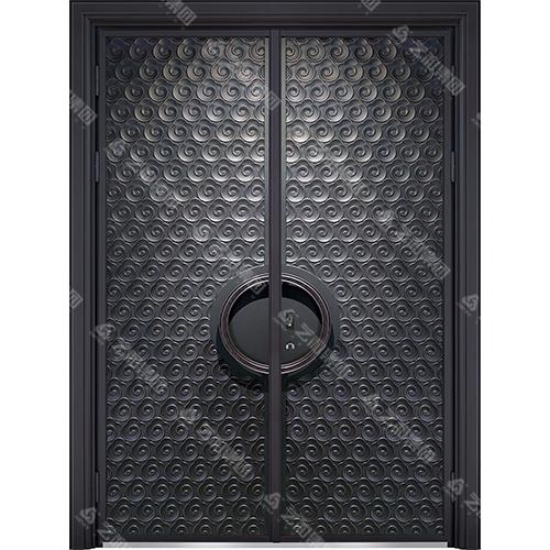 精雕装甲门系列7097(双开门)