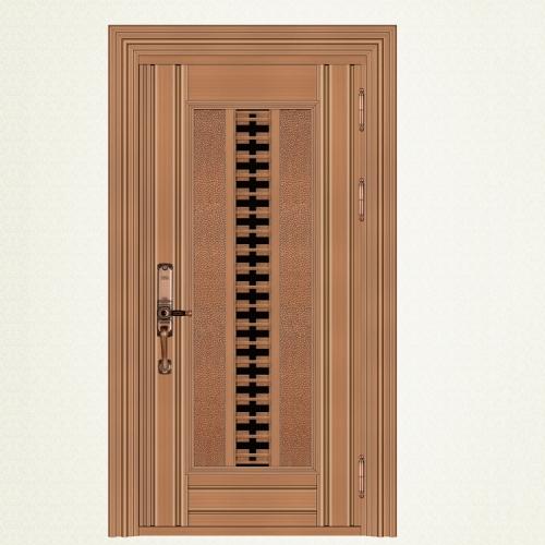 743-8红古铜拉丝单门