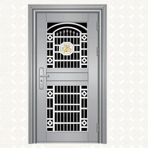 043S-4A不锈钢板单门