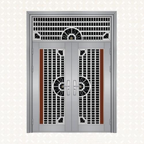 不锈钢板双开门339-3