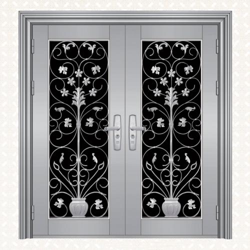 不锈钢板双开门134-4A