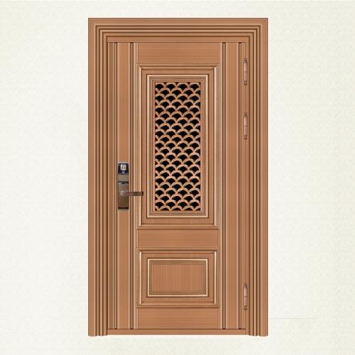 750-8红古铜拉丝单门