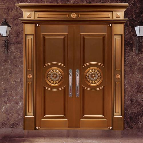 豪华双开铜门  8230
