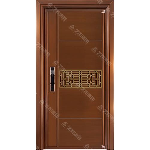 高级钢铜门5302