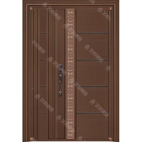 高级钢铜门5306