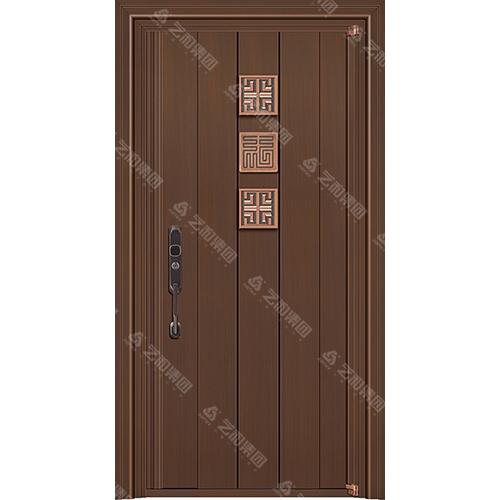 高级钢铜门5307