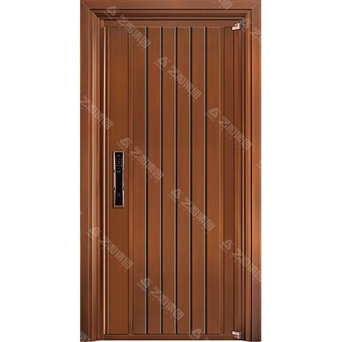 高级钢铜门5312