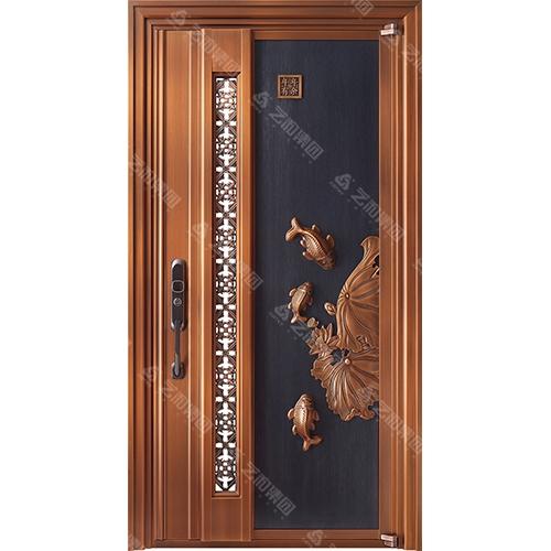 高级钢铜门5301