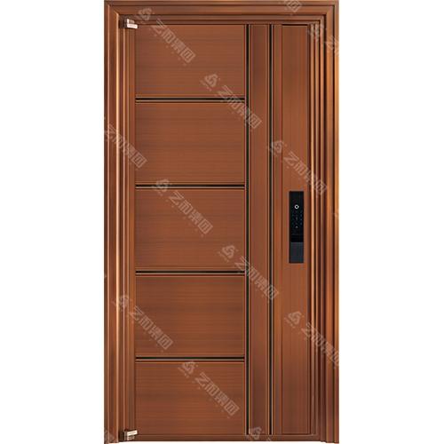 高级钢铜门5313