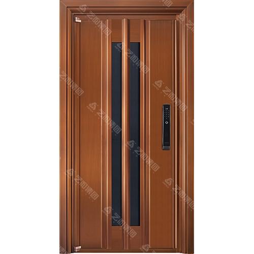 高级钢铜门5314