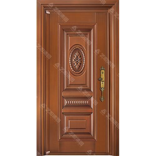 高级钢铜门5330