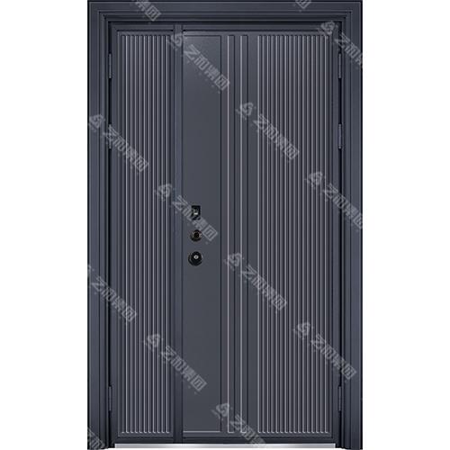 精雕装甲门系列7106(子母门)