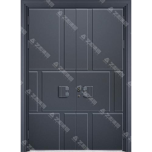 精雕装甲门系列7092(双开门)