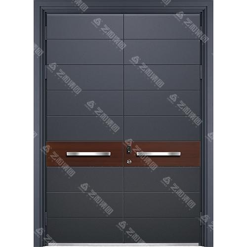精雕装甲门系列7094(双开门)
