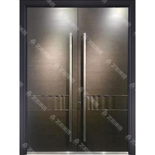 精雕装甲门系列7095(双开门)