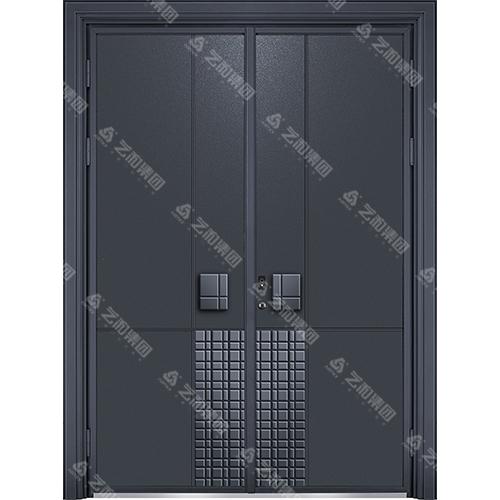 精雕装甲门系列7096(双开门)