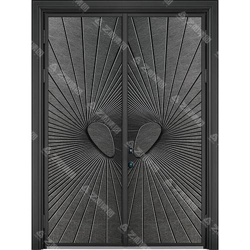 精雕装甲门系列7098(双开门)