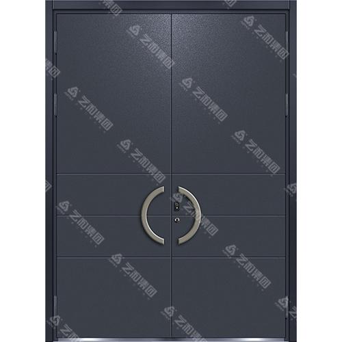 精雕装甲门系列7107(双开门)