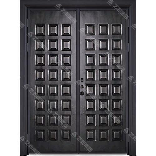 铜木装甲门系列 7056