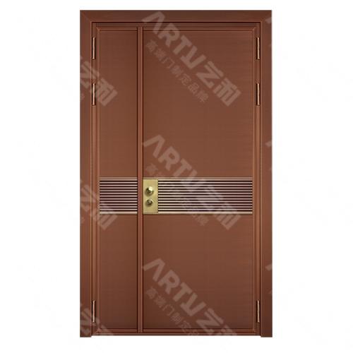 子母铜门系列8511